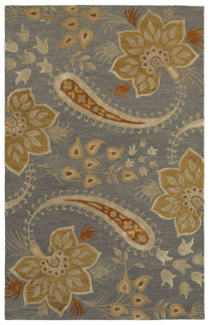 Lr Resources Glamour 06012 Gray Area Rug