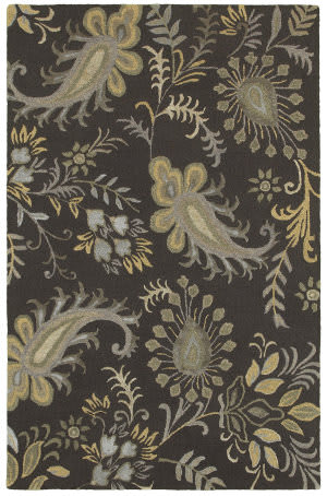 Lr Resources Glamour 06013 Smoke Gray Area Rug