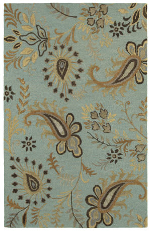 Lr Resources Glamour 06014 Spa Blue Area Rug