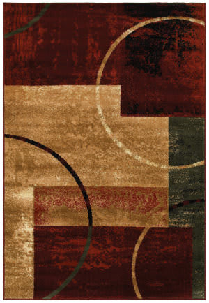 Lr Resources Grace 81108 Red Area Rug