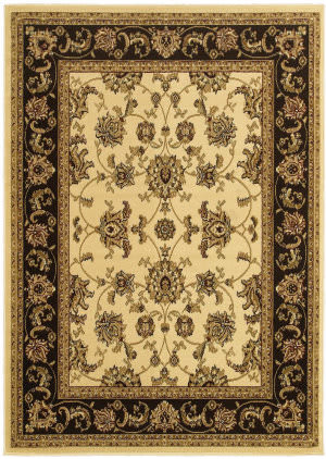 Lr Resources Grace 81138 Ivory - Brown Area Rug