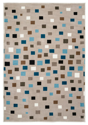 Lr Resources Whimsical 81268 Light Blue Area Rug