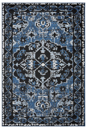 Black And Blue At Rug Studio