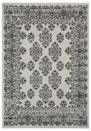 Lr Resources Infinity 81332 Gardenia - Magnet Area Rug