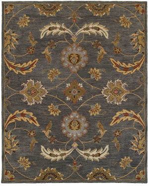Lr Resources Integrity 12017 Charcoal Area Rug