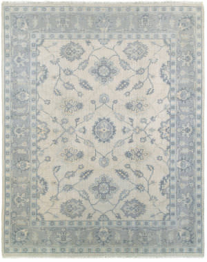 Lr Resources Kareena 21003 Beige - Blue Area Rug