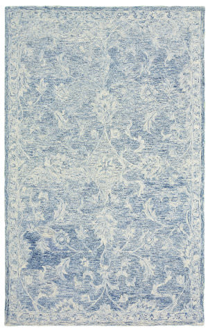 Lr Resources Karma 21043 Navy Area Rug