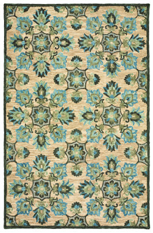 Lr Resources Lavish 54072 Beige Area Rug