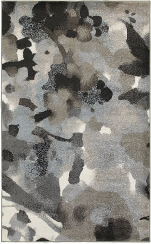 Lr Resources Matrix 81158 Walnut - Frost Gray Area Rug