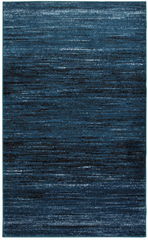 Lr Resources Matrix 81197 Soft Blue - Black Area Rug