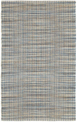 Lr Resources Natural Fiber 03305 Navy Area Rug