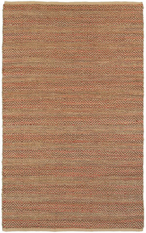 Lr Resources Natural Fiber 03310 Burgundy Area Rug