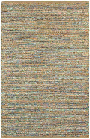 Lr Resources Natural Fiber 03314 Teal Area Rug