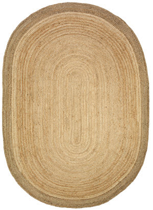 Lr Resources Natural Jute 12035 Natural - Gray Area Rug