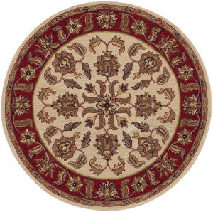 Lr Resources Shapes 10561 Ivory - Red Area Rug