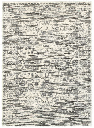 Lr Resources Soft Shag 80122 White Area Rug