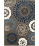 Lr Resources Adana 80373 Charcoal - Blue Area Rug