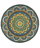 Lr Resources Dazzle 54026 Blue Area Rug