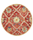 Lr Resources Dazzle 54070 Red Area Rug