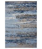 Lr Resources Infinity 81319 Light Blue - Slate Blue Area Rug