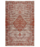 Lr Resources Jewel 81035 Rust Area Rug