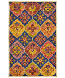 Lr Resources Lavish 54075 Navy Area Rug