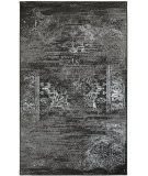 Lr Resources Matrix 81173 Jet Black - Titanium Area Rug