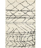 Lr Resources Matrix 81200 White - Black Area Rug