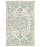 Lr Resources Modern Traditions 81288 Turquoise Gray Area Rug