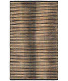 Lr Resources Natural Fiber 03319 Black Area Rug