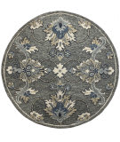 Lr Resources Wool 99649GRY  Area Rug