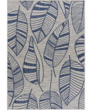 Lr Resources Sanibel 81646 Navy - Gray Area Rug