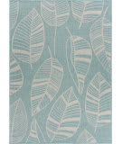 Lr Resources Sanibel 81647 Teal - Cream Area Rug