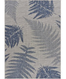 Lr Resources Sanibel 81648 Navy - Gray Area Rug