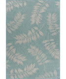 Lr Resources Sanibel 816500 Teal - Cream Area Rug