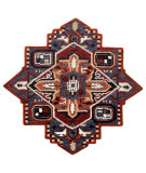 Lr Resources Shapes 50924RUN  Area Rug