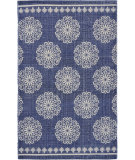 Lr Resources Global Goods 5242 Ivory - Indigo - Navy Area Rug