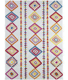 Lr Resources Whimsical 81262 Cream - Orange Area Rug