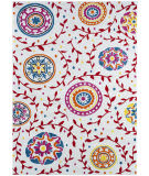 Lr Resources Whimsical 81264 Cream - Red Area Rug