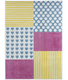 Lr Resources Whimsical 81282 Cream - Yellow Area Rug