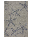 Lr Resources Captiva 81019 Gray - Navy Area Rug