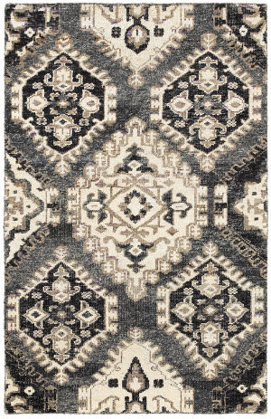 LR Resources Rajani Lr04406 Gray Area Rug