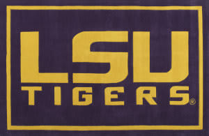 Luxury Sports Rugs Tufted LSU Purple