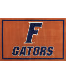 Luxury Sports Rugs Team University of Florida Orange Area Rug