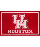 Luxury Sports Rugs Team University Of Houston Red Area Rug