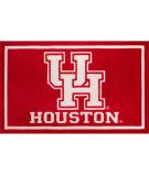 Luxury Sports Rugs Team University Of Houston Red Area Rug