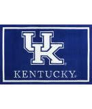 Luxury Sports Rugs Team University of Kentucky Blue Area Rug