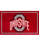 Luxury Sports Rugs Team Ohio State University Red Area Rug