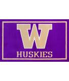 Luxury Sports Rugs Team University Of Washington Purple Area Rug