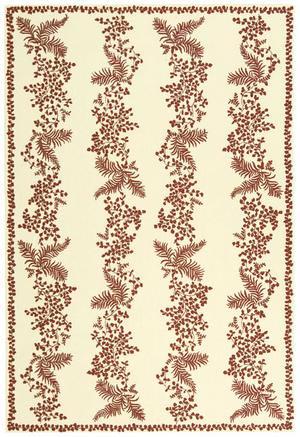 Martha Stewart by Safavieh MSR2321B RED / DAHLIA Area Rug